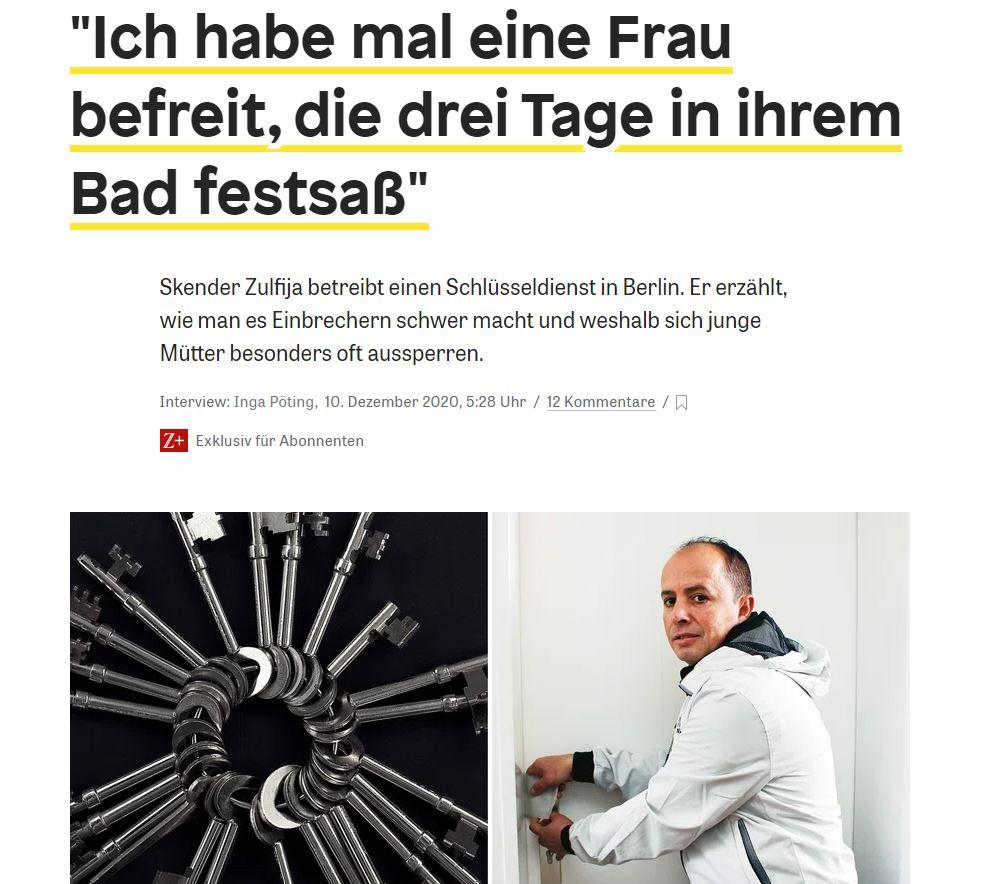 Schlüsseldienst Berlin - Einbruchschutz